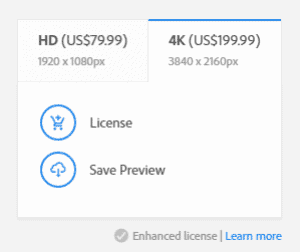 Adobe Stock Video Pricing