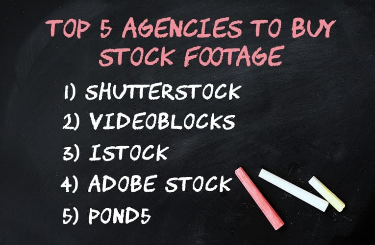 Top 5 Cheap Stock Footage Agencies