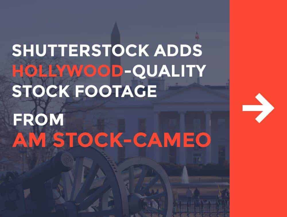 Shutterstock Adds Exclusive Hollywood-Quality Stock Footage from Experts AM Stock-Cameo