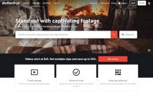 Shutterstock cheaper video clips