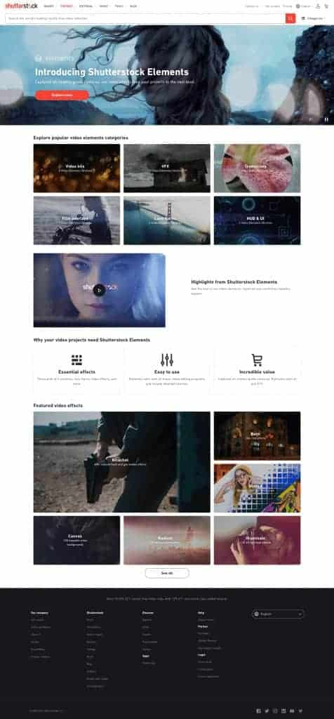 Shutterstock Elements: A First-Class Collection of Cinematic Elements for Video Production 3