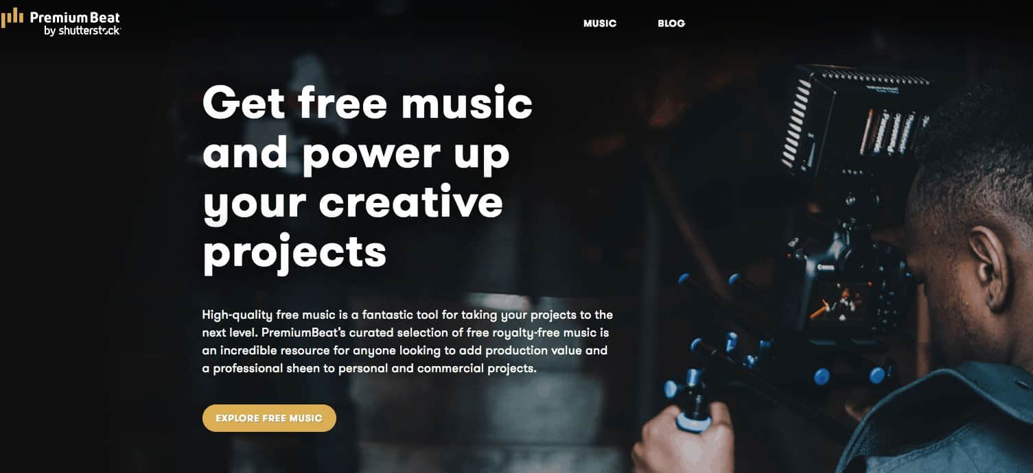 Shutterstock and PremiumBeat Join Forces to Offer Free Music 1