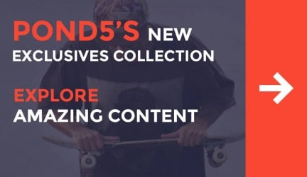 Explore Amazing Content in Pond5's New Exclusives Collection